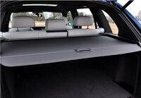 Для BMW X5 E70 2008 2009 2010 2011 2012 Черный Выдвижной сзади грузовой Чехол Магистральные тенты безопасности покрытие Алюминий + холст