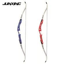 Два Цвета 68 «изогнутый лук 18-32 кг с стрелка отдых для стрельбы из лука съемки Алюминий ручка сплава клен и конечностей