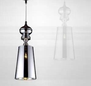 Jaime Hayon Josephine Mini T Pendant Lamp White Black Gold