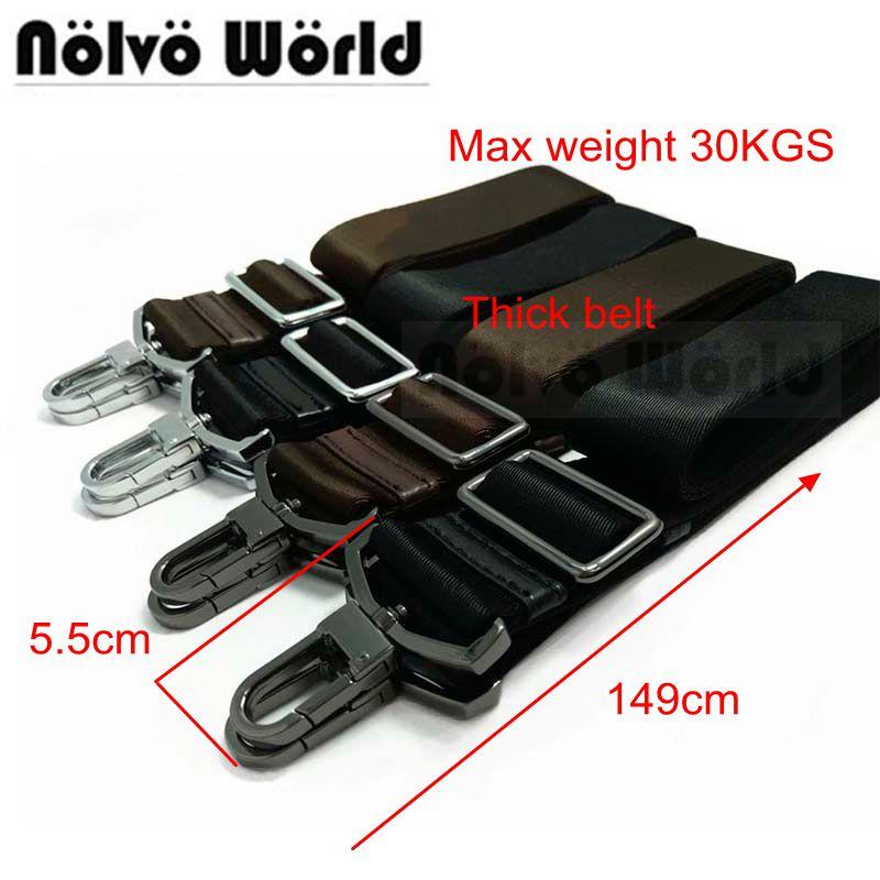 38mm Wide Thick Nylon Belt Powerful Accessory,men Bags Long Shoulder Strap,replace Man Briefcase Bag Straps Bag Laptop Bag Strap