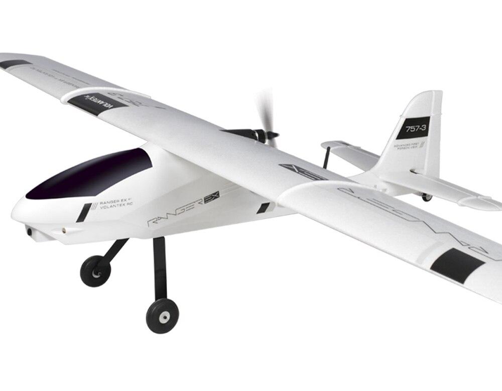 2M Huge Volantex Ranger EX RC KIT Plane Model W/O Motor Servo 40A ESC volantex trainstar ex rc kit plane model w o brushless motor servo esc battery