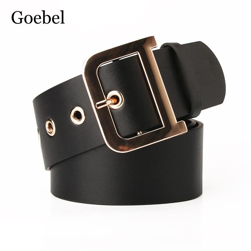 2019 señoras cinturón moda D palabra hebilla salvaje vestido ancho cinturón mujer traje cinturón para mujer alta calidad
