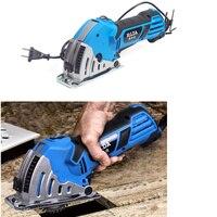 500W Electric mini circular saw mini power saw with House hold Metal Pulley Rail circular saw Electric Saw