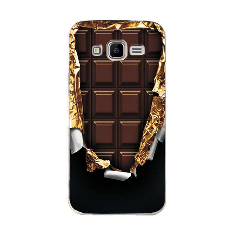 """Untuk Samsung GALAXY CORE Prime LTE G360 Berbagai Kasus Kulit Bermotif Kembali Menutupi untuk Samsung G3608 4.5 """"Case G360H g361H Case Capa"""