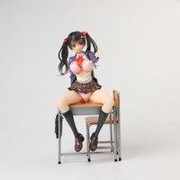 18cm Alphamax Skytube Saitom sexy girl Anime Cartoon Action Figure PVC toys Collection figures for friends gifts LX000158