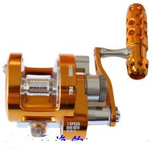 WOEN Full Metal SY70 / 90 Two-speed Drums Trolling wheel sea Fishing wheel South oil pole deep sea Fishing reels