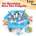 Ледокольного Сохранить Пингвин, пингвин кубики льда сохранить пингвин стук льда блок стены игрушки столе Большой Family Fun развивающие игрушки