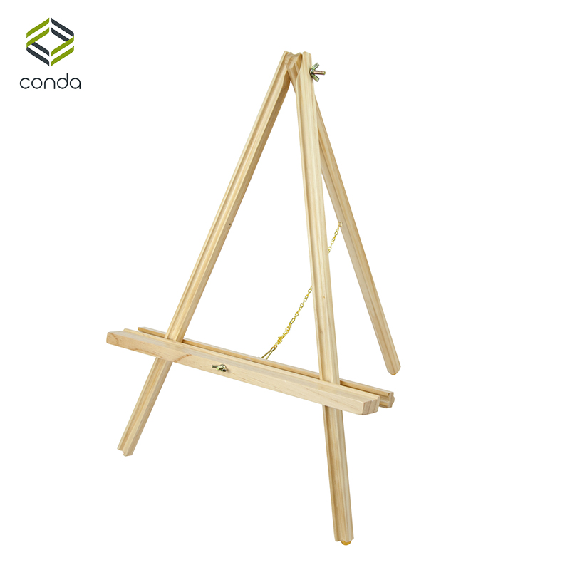 Conda Adjustable 22 inch Wooden Easels Portable Beech Wood A Frame ...