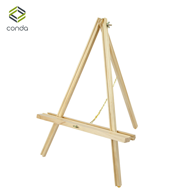 conda adjustable 22 inch wooden easels portable beech wood a frame