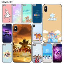 YIMAOC KPOP ASTRO Soft Silicone Cover Case for Apple iPhone 11 Pro X XR XS Max 6 6S 7 8 Plus 5 5S SE 10 TPU Phone Cases(China)
