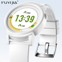 FUYIJIA 2019 New Waterproof Bluetooth Smart Watch Men Women Watches Ladies Sports Watch Smart Android/iOS Heart Rate Monitoring