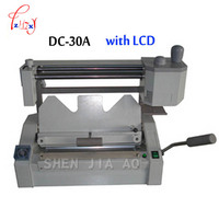 A3 glue binding machine with LCD,glue book binder machine of the office Electronic equipment 220V 500W 1pc