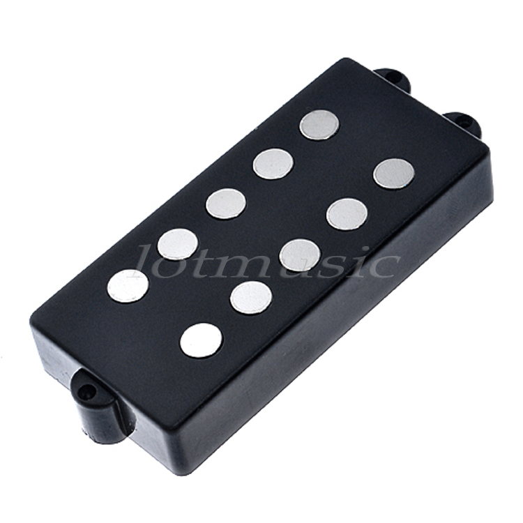 Belcat Bass Pickup 5 String Humbucker Double Coil Pickup Guitar Parts Accessories Black electric guitar pickup humbucker for 6 string 6 pieces double coil pickups set neck bridge pickup humbucker double coil