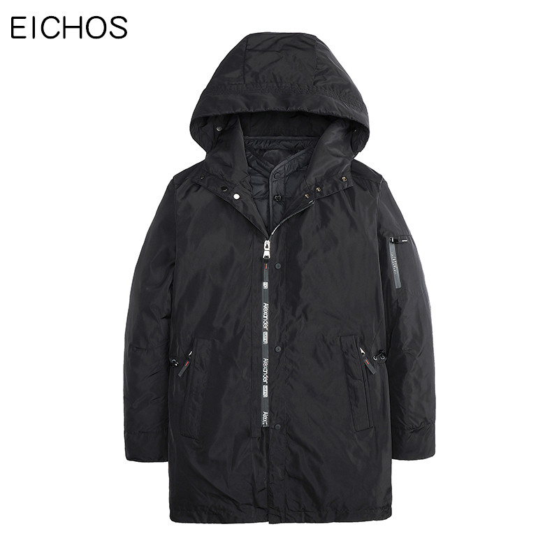 EICHOS Fashion Thick Jacket+Parka Outcoat Mens Winter Jackets Warm Parka Man Hooded Long Coat 2017 New Parkas 2 Parts DMY0818 jackets men north winter coat thick warm cotton parka homme jacket mens brand clothing napapijri parkas man fashion down jackets