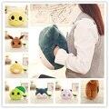 Jigglypuff pokemon psyduck plush snorlax travesseiro mão mais quente pikaqiu brinquedo para crianças escritório de pelúcia anime boneca de pelúcia 33*28 cm