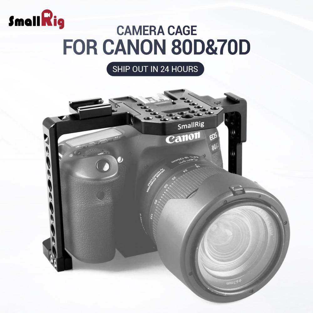 SmallRig 80D Camera Cage for Canon EOS 80D 70D Camera Cage 1789