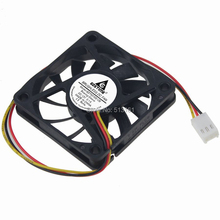 5PCS Gdstime 60mm 3Pin 12V 60x60x10mm Computer Cooler DC Cooling Fan