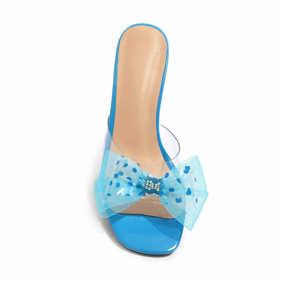 TXCNMB 靴の女性 2019 ファッション女性サンダル夏 pvc 透明スタイルのサンダルの女性スリッパセクシーな固体靴ビッグサイズ 42 9