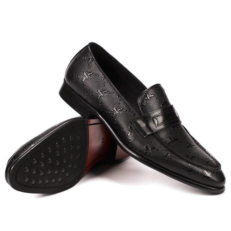 NORTHMARCH/брендовая официальная оксфордская обувь для мужчин; свадебные туфли на шнуровке; мужские повседневные мужские туфли в деловом стиле; ... - 5