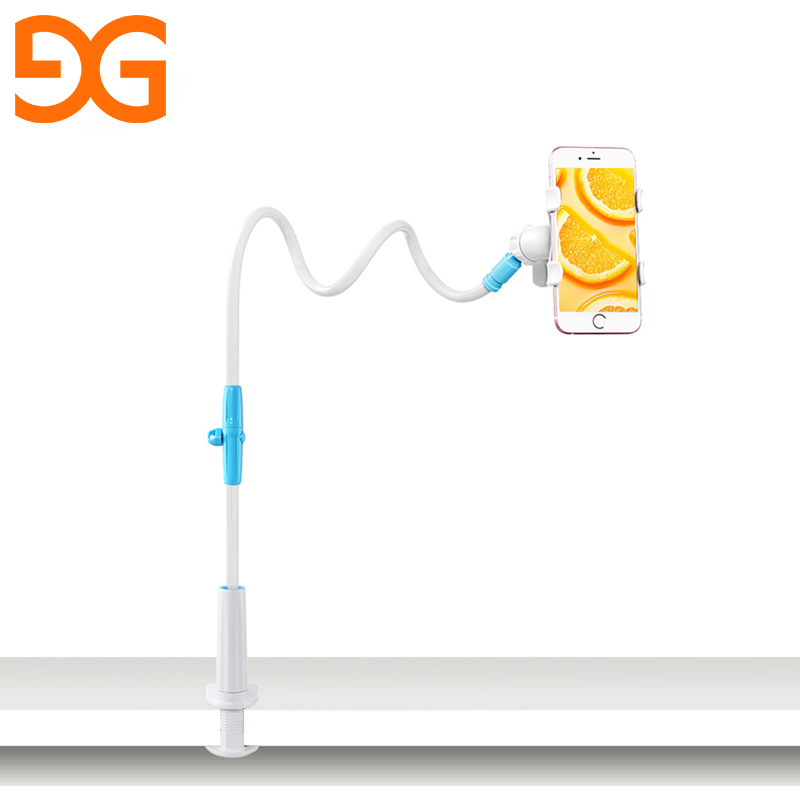 GUSGU Universal Stents Flexible Faul Handy Stehen Lange Arm Bett/Desktop Clip Halterung Für iPhone/Xiaomi/Samsung