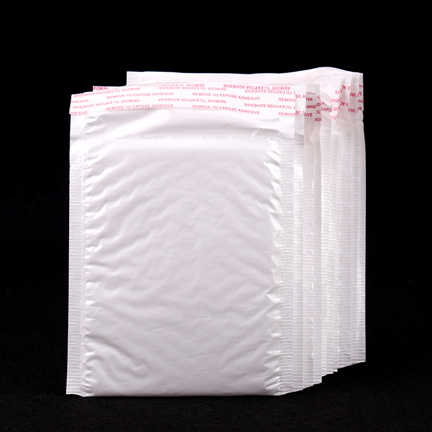 10 PCS/Pack 160*140mm White Pearl Film Bubble Envelope Courier Bags Waterproof Packaging Mailing Bags Business Supplies