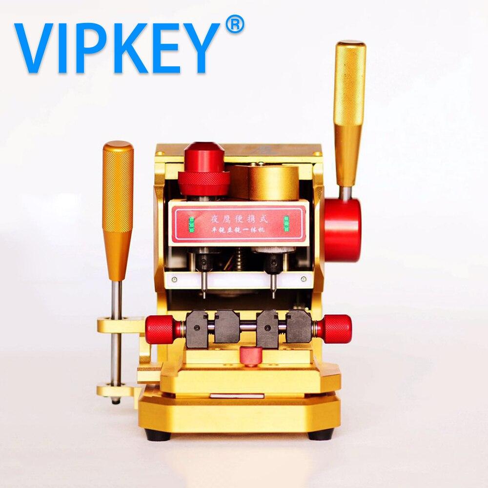 S9 High Professional Universal Portable Flat Vertical Key Cutting Machine  Lock Pick Set Locksmith Tools Duplicate Key Machine