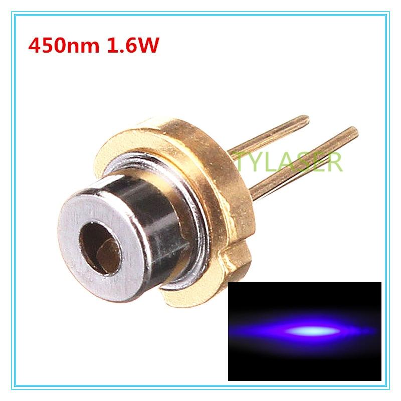 купить 450nm 1.6W Blue Laser Diode D5.6mm OSRAM PLTB450B/TO56 MLASER по цене 2039.93 рублей