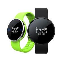 Wasserdicht IP67 UW1 Armband BT4.0 Smart Armband Smartwatch Herzfrequenz Anruf SMS Erinnern Hand Raise Leuchten für IOS Android