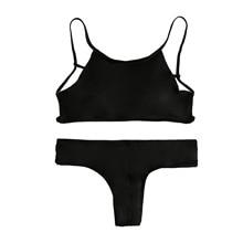 High Neck Bikini Set Swimsuit Bathing Suit Swimwear For Women