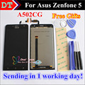 """High Quality Touch Screen and LCD Display Digitizer Assembly For Asus Zenfone 5 A502CG 5.0 """" Cellphone  Black Color Free Tools"""
