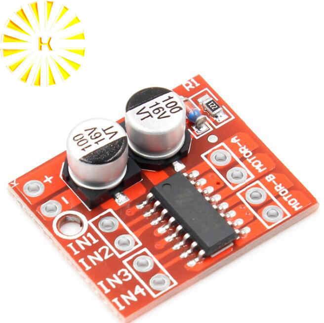 2-canal módulo de condução motor DC PWM velocidade mini motor de inversão Positiva dual-ponte h driver de motor de passo conector