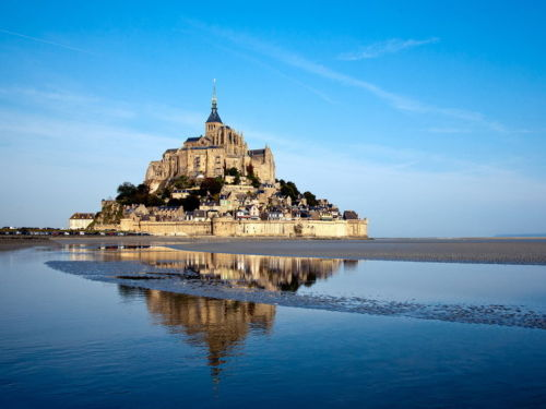 5573 Mont Saint Michel Basse Normandie France Wall Sticker Art