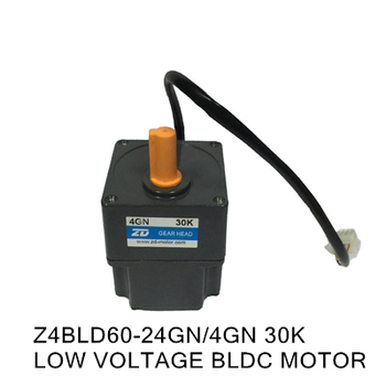 Z4BLD60-24GN/4GN 30K LOW VOLTAGE BLDC MOTOR 24V 60W AGV smart car chassis motor