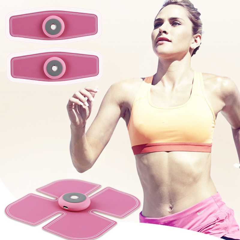 Smart Bioelectrical Stimulator Pad Abdomen Muscle Training Gear Arm Toning Belt Slimming Sticker Fitness Shape Building
