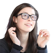 Sexy Girls Strong Thick Glasses 1.56 Refractive Index Resin Lenses Black Frame Meganekko Cosplay Eyeglasses Minus 20 Diopters nonlinear refractive index variation due to varying wavelengths