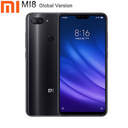 Xiaomi mi 8 smartfon wersja globalna 4GB pamięci RAM 64GB ROM telefon 6.26 cal Octa rdzeń przedni aparat 24 MP mi 8 lite telefon 1