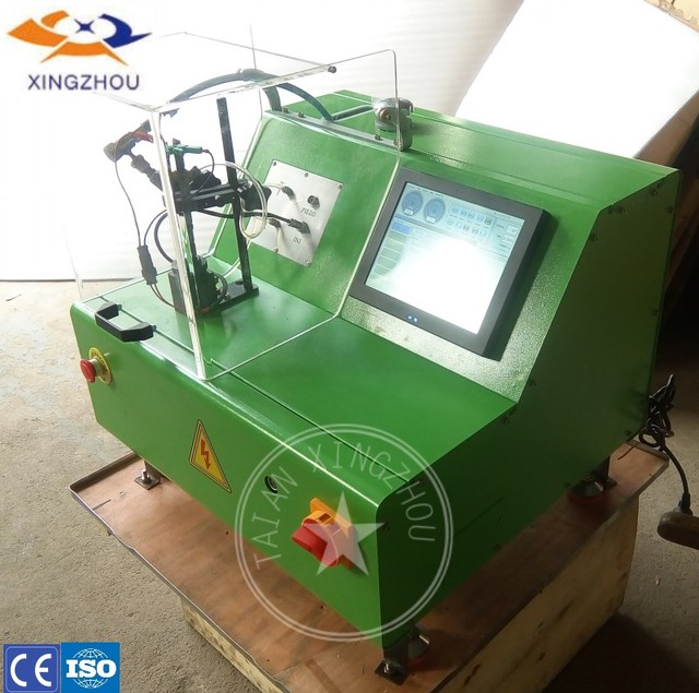 US $3250 0 |high qulaity EPS205 diesel fuel common rail injector test bench  stand bank with QR code -in Mechanical Testers from Automobiles &