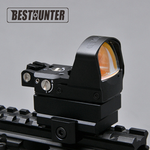 Leupold Red Dot Sight Con el 1911,1913 Y Rifles de Caza Alcance Glock Monte Negro Equipo Táctico Reflex Holográfica Dot Sight