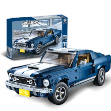 SLPF Technology Series Sports Car Model Kit Building Blocks Brick Children Educational Assembly Boy Toys Compatible Legoing I11