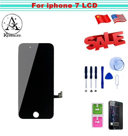 1pcs For iphone7 LCD Original Assembly With 3D Touch Screen Display Replacement No Dead Pixel For iPhone 7 LCD 4.7 Free shipping replacement original touch screen lcd display assembly framefor huawei ascend p7 freeshipping