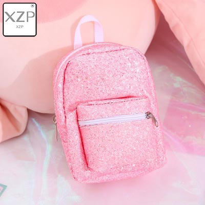 XZP мини кошелек на запястье для монет, рюкзак для женщин, блестящий маленький рюкзак с блестками, кошелек, дизайнерский рюкзак для девочек, милый Рюкзак Kawaii - Цвет: Style 2