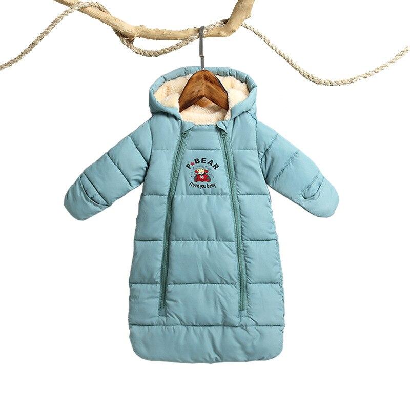 Creative 2019 Snow Wear Snowsuit Baby Plus Velvet Thicker Coat Girls Winter Clothes Bodysuit Newborn Warm Romper Jumpsuits Clothes Coat Outerwear & Coats