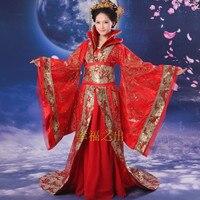 Древний китайский костюм Для женщин Hanfu платья Китай Hanfu платье Карнавальная одежда традиционные Для женщин древних китайский костюм