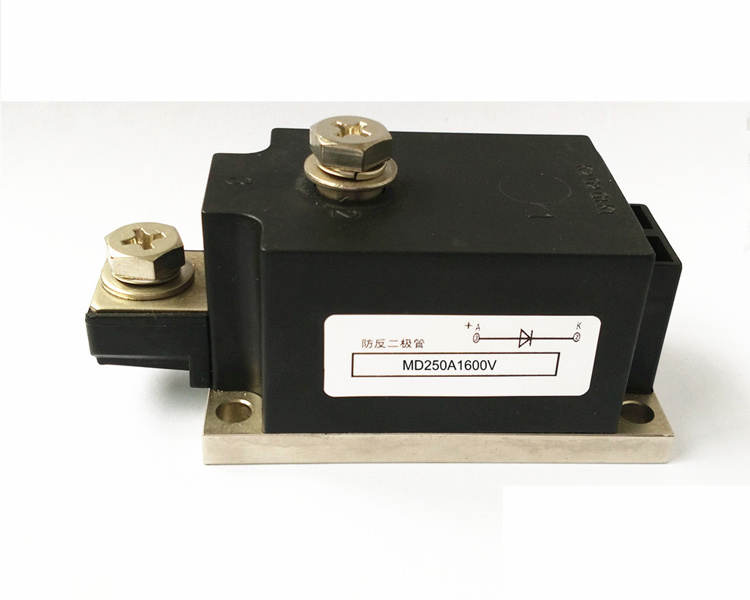 Single high current anti-reverse diode MD 250A 1600V  Photovoltaic anti-anti ordinary rectifier module md 200a 1600v 250a 1600v 300a 1600v 350a1600v 400a1600v 500a 1600v