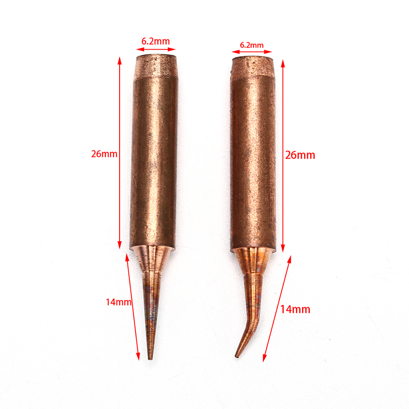 Soldering Tips 900M-T-I ,900M-T-IS Soldering Iron Pure Copper Lead-free For Hakko Soldering Rework Station Soldering Tips