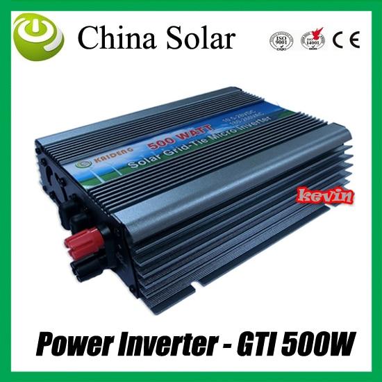 ФОТО Power Inverters & Converters 500W DC to AC ,PV Inverter GTI 500