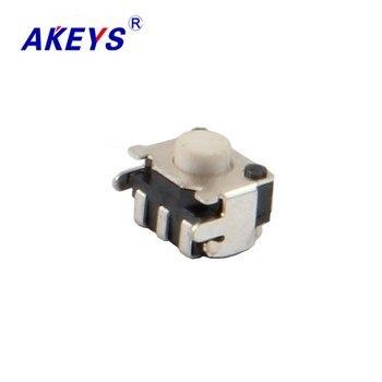 цена на 20PCS TS-A020 4*5*3.5H Smile face switch white head subminiature SMD/SMT type tact switch GF-2BH