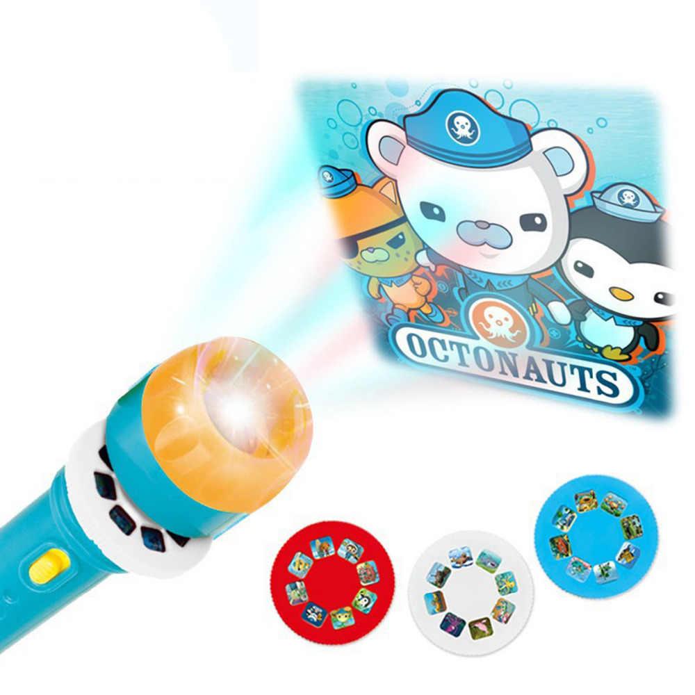 Светящиеся игрушечные лошадки светящиеся проекционные лампы горки светодиодный светящийся для мальчиков Красочный милый свет подарок на день рождения Детские гаджеты Детские хобби мальчик