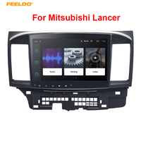 FEELDO 10inch Bigger HD Screen Android 8.1 Quad Core Car Media Player With GPS Navi Radio For Mitsubishi Lancer EX