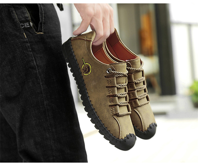 HTB1fatcavfsK1RjSszbq6AqBXXaV - 2019 New Fashion Leather Spring Casual Shoes Men's Shoes Handmade Vintage Loafers Men Flats Hot Sale Moccasins Sneakers Big Size